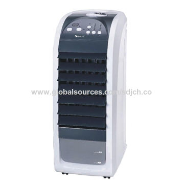 Portable Air Cooler Fan with 4.5L Water Tank, 3 Speeds Control, 3 Different Wind